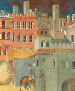 Dettaglio della famosa opera in stile gotico