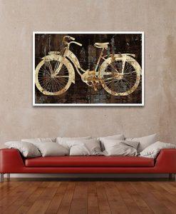 Stencil di una bicicletta vintage