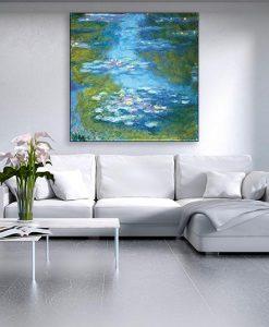 Ambientazione Dipinto impressionista di ninfee