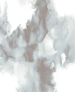 Mescolanza effetto fumo bianco e grigio