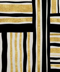 Dipinto con strisce dorate