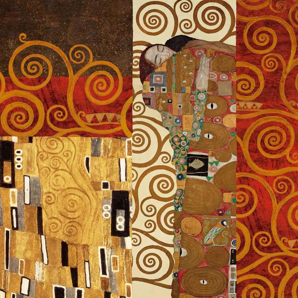Gustav Klimt - Klimt Details Fulfillment - ART+PLUS vendita stampe su tela,  quadri e poster