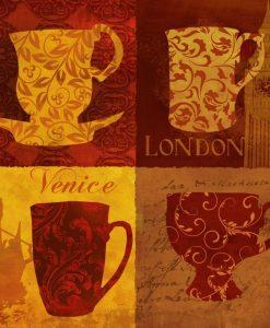 Tazze di caffè dal mondo
