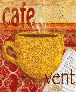 Tazza di caffè in stile antico