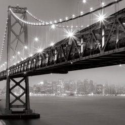 Bay Bridge illuminato
