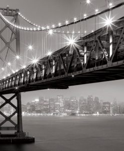 Bay Bridge illuminato
