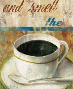 Pannello decorativo caffè mattutino