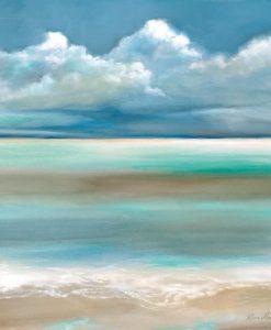 Dipinto di un mare idilliaco