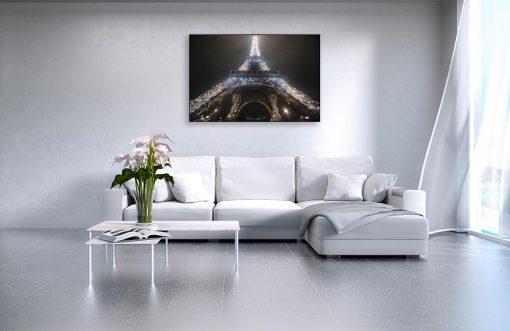 Ambientazione La Tour Eiffel illuminata