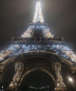 La Tour Eiffel illuminata