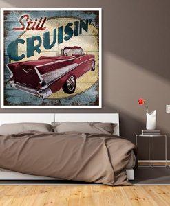 Classica auto vintage americana