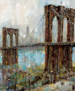 Dipinto del ponte di Brooklyn