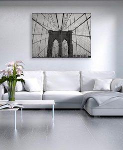 fba656fb89 Perry Chudnoff - Brooklyn Bridge - ART+PLUS vendita stampe su tela ...