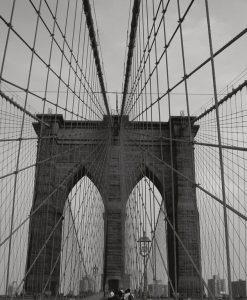 Dettaglio del ponte di Brooklyn