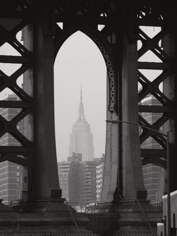 69d0b50cad Perry Chudnoff - View Through the Bridge - ART+PLUS vendita stampe ...
