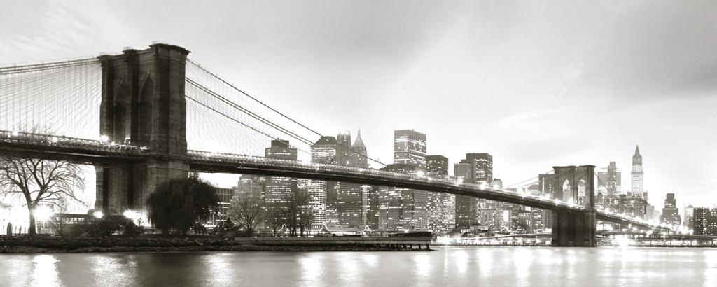 35f00d5b01 Danita Delimont - Brooklyn Bridge Twilight - ART+PLUS vendita stampe ...