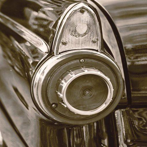 Faro posteriore vintage
