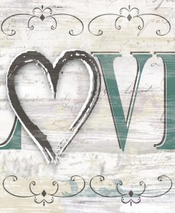Kelly Donovan Shabby Chic Love Art Plus Vendita Stampe Su Tela