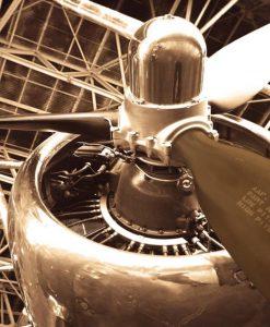 Elica e reattore di un DC 4