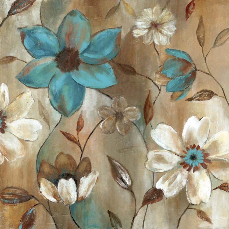 CAROL ROBINSON - Garden Glow II - ART+PLUS vendita stampe su tela ...