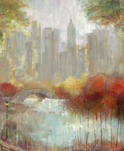 Parco cittadino in autunno
