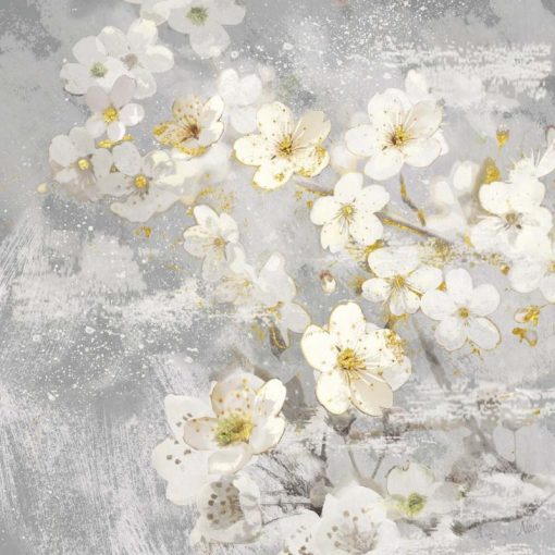 Rami di magnolia fioriti