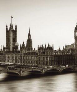 Fotografia di Londra con effetto sfumato