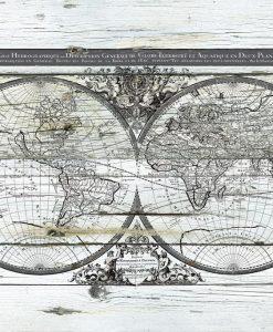 Antico planisfero del mondo