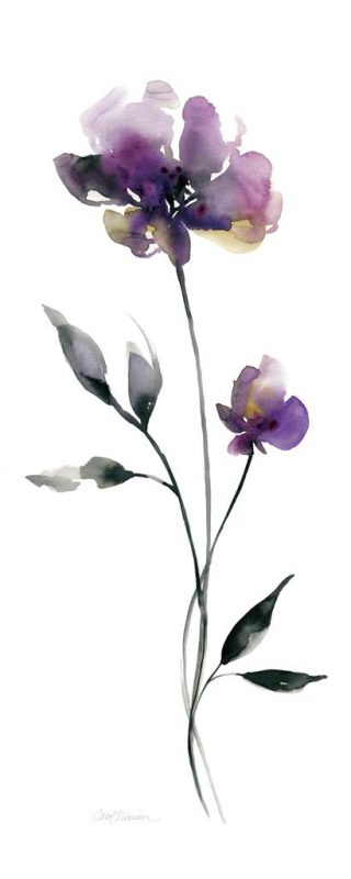Carol Robinson Perfect Purple I Artplus Vendita Stampe Su Tela