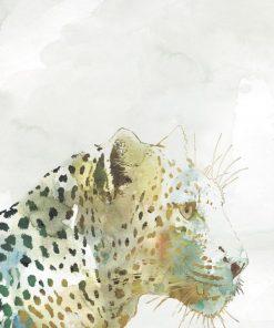 Dipinto variopinto di un leopardo