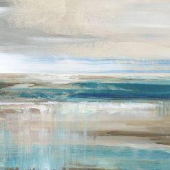 Dipinto astratto del mare