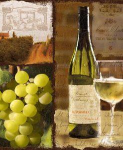 Composizione a tema vino