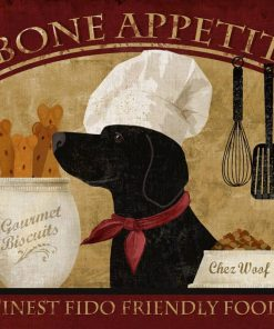 Fumetto con cane chef