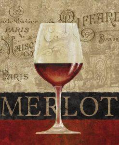 Composizione con bicchieri di vino rosso