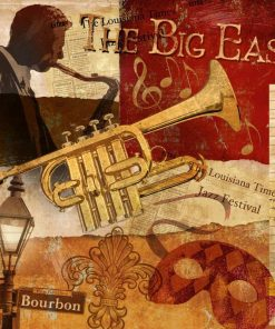 Composizione a tema musica jazz