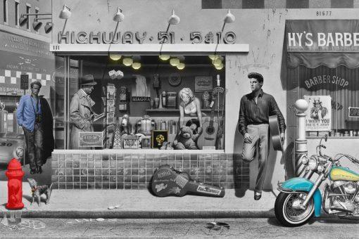 Vita di tutti i giorni James dean, Elvis Presley, Marilyn Monroe