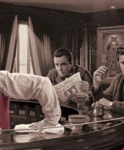 Amici famosi al bar, James Dean, Marilyn Monroe, Elvis Presley
