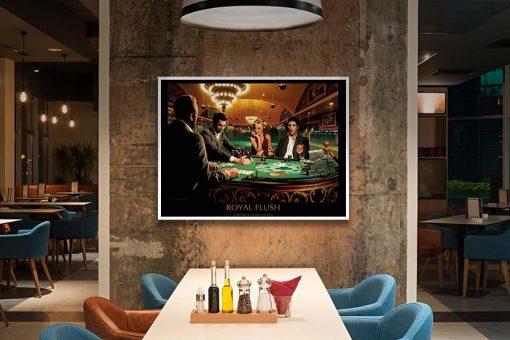 Ambientazione Amici famosi al casinò Marilyn Monroe, Elvis Presley, James Dean