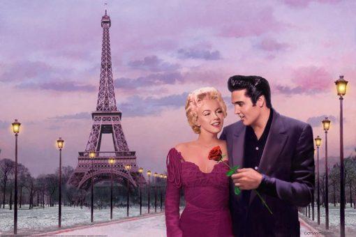 Ambientazione Appuntamento a Parigi con Elvis Presley e Marilyn Monroe
