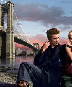 Ambientazione Appuntamento a Brooklyn James Dean Marilyn Monroe