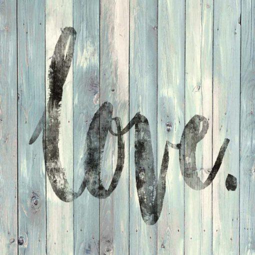 Scritta su pannello di legno