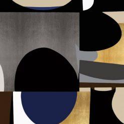 Forme geometriche dalle tonalità fredde