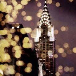 Effetti di luce e il Chrysler Building