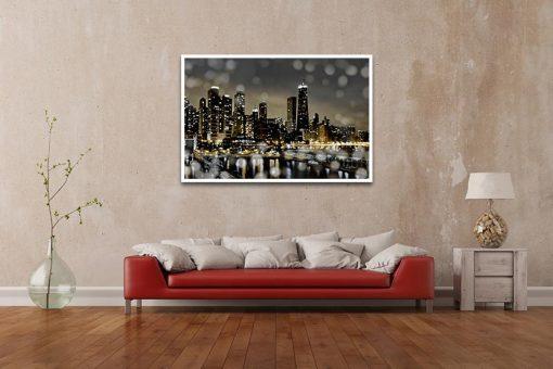 Ambientazione Chicago con effetti di luce