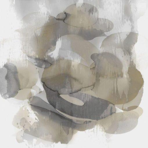 Acquerello di una mescolanza di colori neutri