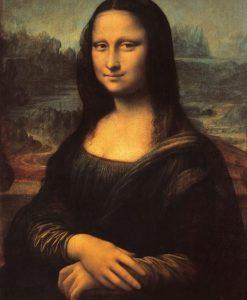 Famoso ritratto di donna enigmatica
