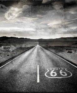 Route 66 nel deserto