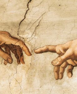 Famoso affresco raffigurante Gesù e gli apostoli