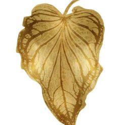 Foglia di palma dorata