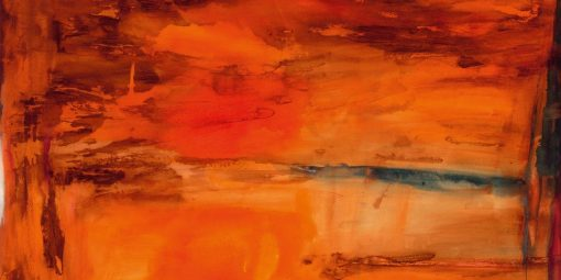 Sfumature di un bagliore color arancio